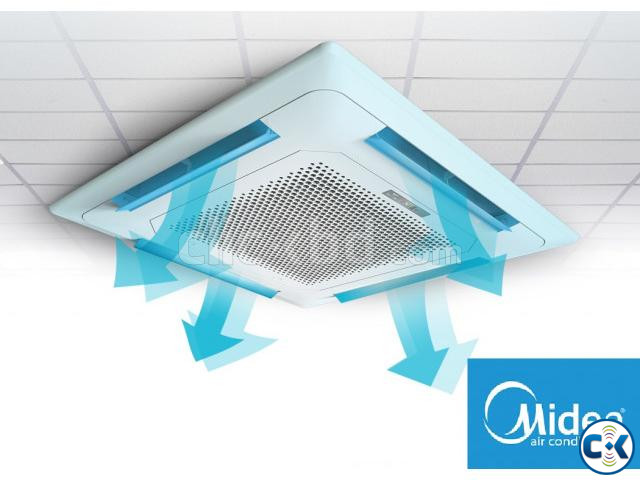 Midea 2.5 Ton Cassette Type Air Conditioner | ClickBD large image 0