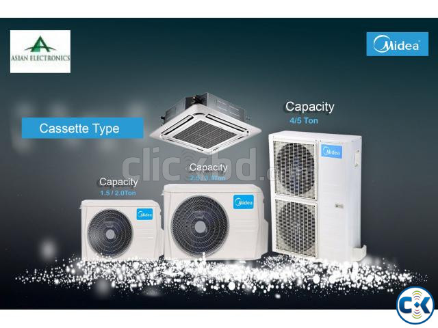 Midea 2.5 Ton Cassette Type Air Conditioner | ClickBD large image 1