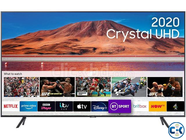 Samsung 43 TU7100 Crystal UHD 4K Smart Android TV | ClickBD large image 1
