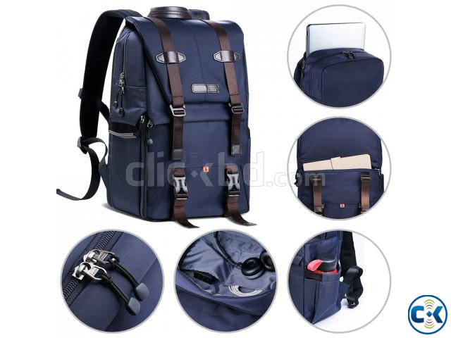 K F Concept KF13.087 Multifunctional Waterproof Camera Bag | ClickBD large image 4