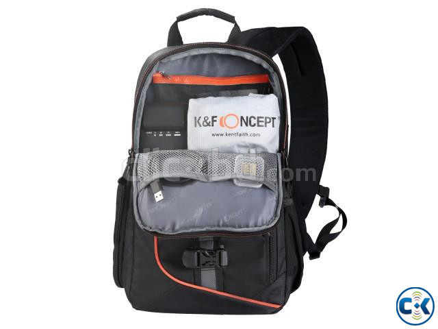 K F Concept KF13.050 Waterproof Sling Camera Backpack | ClickBD large image 2