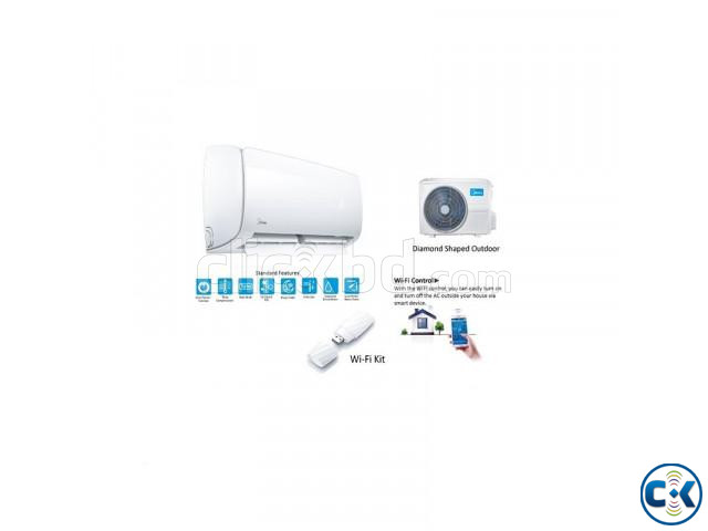 Midea MSE-18HRI-AG1 1.5 ton split Inverter Hot cool AC 0  | ClickBD large image 0