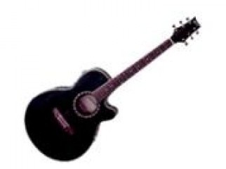 Nice Black Accoustic Guitar