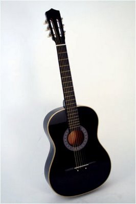 Nice Black Accoustic Guitar | ClickBD large image 0
