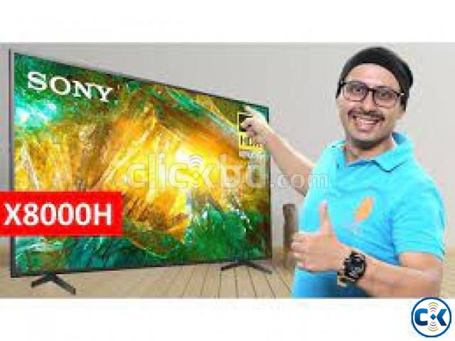55 Inch KD-X8000H Sony Bravia 4K Android TV 5 Years warranty | ClickBD large image 1