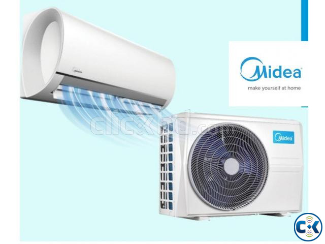 World Top Band Midea 1.0 ton split type ac air conditioner | ClickBD large image 0