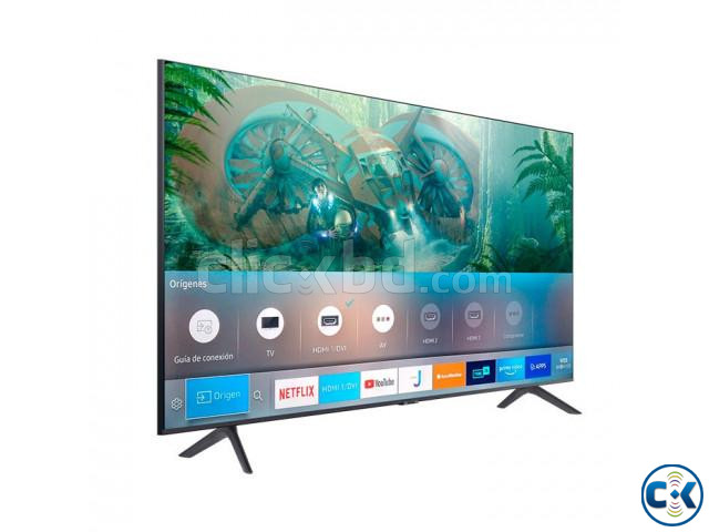 43 inch SAMSUNG TU8100 CRYSTAL UHD 4K VOICE CONTROL TV | ClickBD large image 1