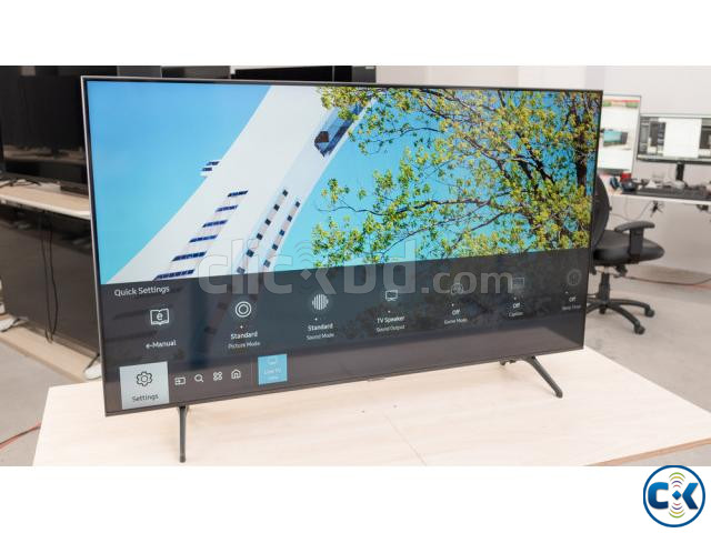 43 inch SAMSUNG TU8100 CRYSTAL UHD 4K VOICE CONTROL TV | ClickBD large image 2