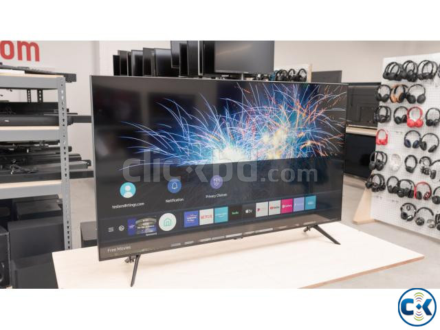 43 inch SAMSUNG TU8100 CRYSTAL UHD 4K VOICE CONTROL TV | ClickBD large image 3