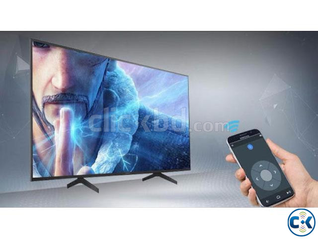 49 inch SONY X8000H 4K ANDROID VOICE CONTROL TV | ClickBD large image 4