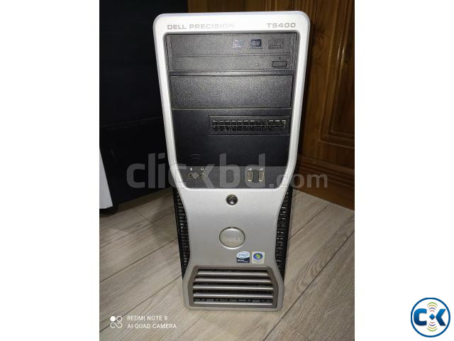 Dell Precision T5400 Workstation Brand PC | ClickBD large image 2