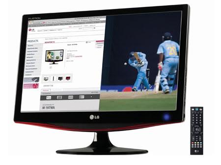 LG M227WA 21.5 16 9 Full HD LCD TV MONITOR | ClickBD large image 0