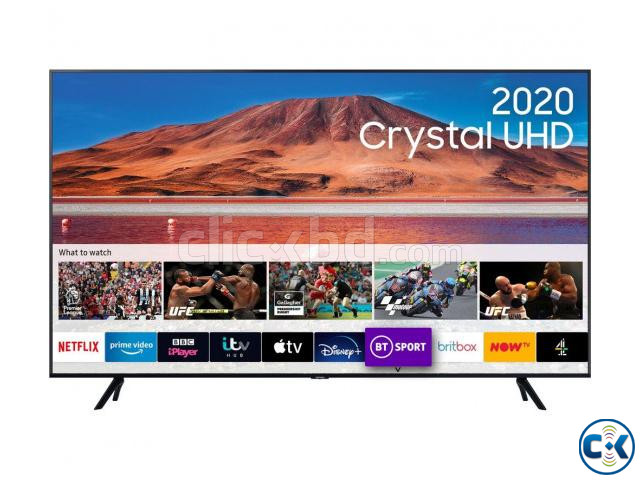 SAMSUNG 55 powered by Tizen TU7000 Crystal UHD 4K Smart TV | ClickBD large image 0