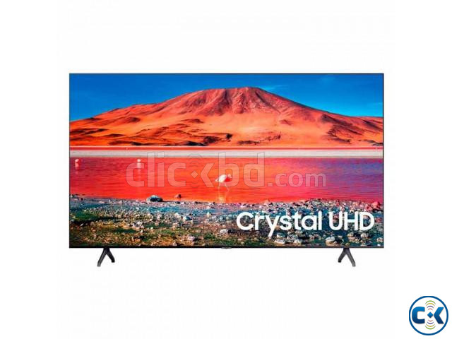 SAMSUNG 55 powered by Tizen TU7000 Crystal UHD 4K Smart TV | ClickBD large image 1