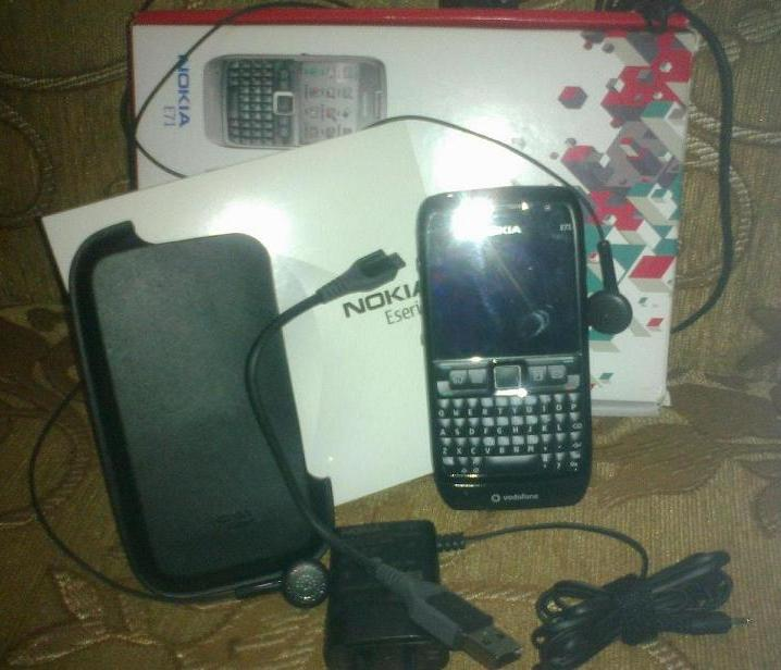 Nokia E71 brand new from Malaysia | ClickBD large image 0