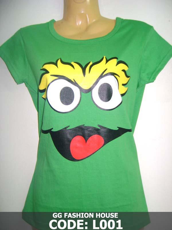 Ladies Printed T-Shirt | ClickBD large image 0