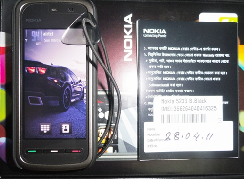 9 Days used Nokia-5233 xchange ofer wid E72 or 71 | ClickBD large image 0