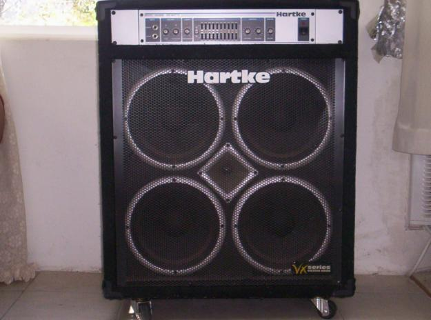 HARTKE BASS AMP. VX 3500 MODEL. CON 01912-6837-12   ClickBD large image 0