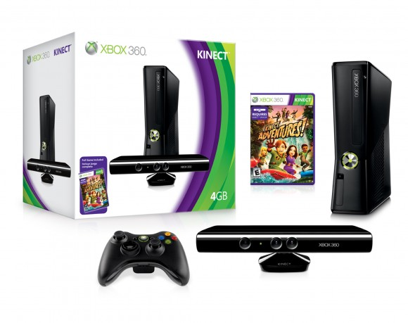 Xbox 360 Slim with Kinect | ClickBD large image 0