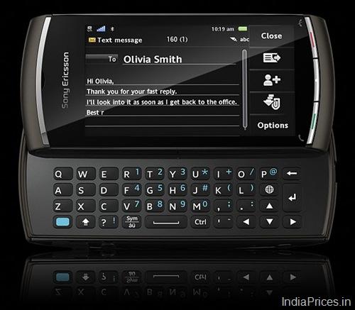 Sony Ericsson Vivaz Pro Black  | ClickBD large image 0