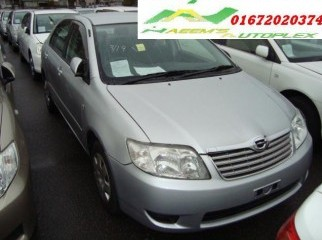 2005 Corolla X 1.5L Silver CD Alloy -On Cash Sale