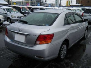 Toyota Allion-2009 silver G pack special editon.