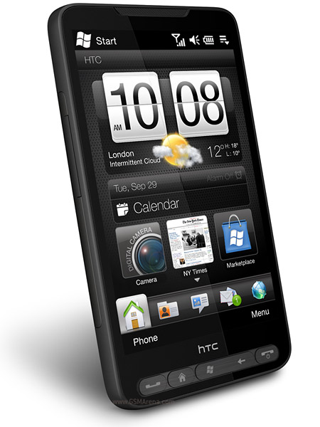 HTC HD2 with multiple OS- winmo 6.5 7 android | ClickBD large image 0
