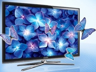 Samsung 3D LED TV 40 3D Blu Ray Player