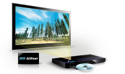 Samsung 3D LED TV 40 3D Blu Ray Player | ClickBD large image 0