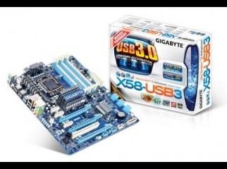 Gigabyte GA-X58-USB3 motherboard - LGA1366 Socket