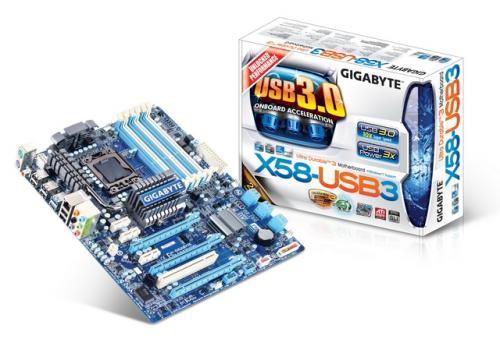 Gigabyte GA-X58-USB3 motherboard - LGA1366 Socket | ClickBD large image 0