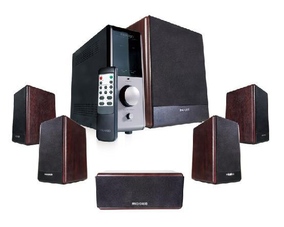 Microlab FC-730 5.1 Speakers 84W RMS 12Wx5 24W | ClickBD large image 0