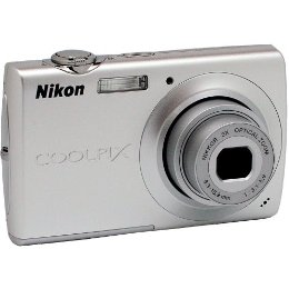 Brand New Nikon Coolpix S203 10MP Digital Camera | ClickBD large image 0