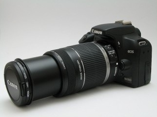 Eos 1000D Canon 55-250 IS 8 GB SD only 30000