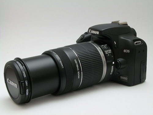 Eos 1000D Canon 55-250 IS 8 GB SD only 30000 | ClickBD large image 0