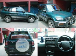 TOYOTA RAV4 MODEL 1995 GOOD CONDITION