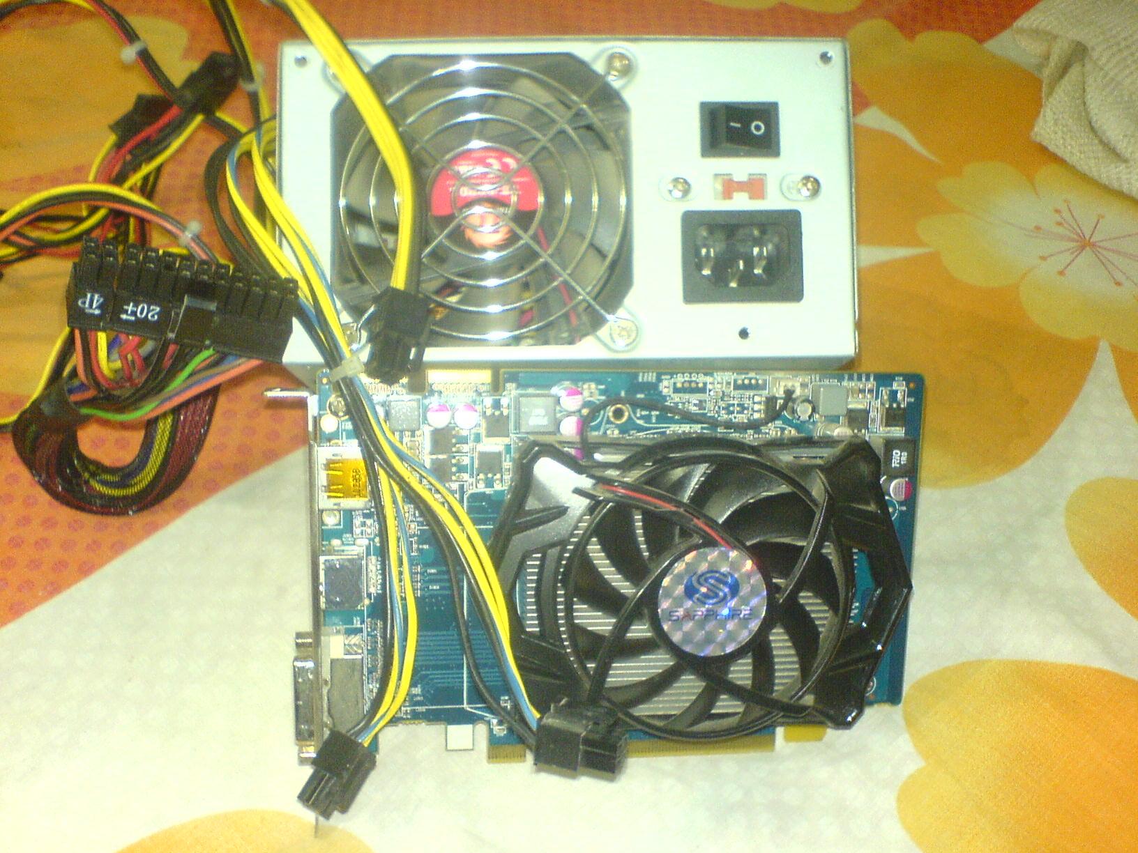 Sapphire ATI Radeon 5670 1GB With Tharmalteck 500W | ClickBD large image 0