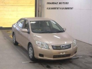 TOYOTA AXIO X 2009 MODEL GOLDEN COLOR