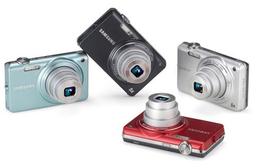 Samsung ST65 Digital Camera 14 mega 5x zoom | ClickBD large image 0