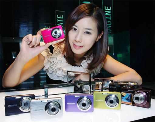 Samsung ST65 Digital Camera 14 mega 5x zoom | ClickBD large image 1