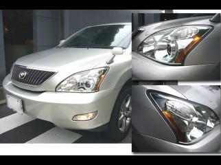 head light for toyota harrier 2003 to 2008 models