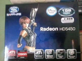 ATI REDION HD5450 NEW..DDR3..1gb.CALL..01674834418
