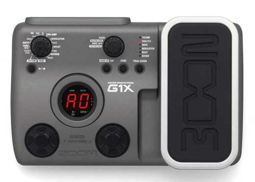 Zoom g1x pedal processor | ClickBD large image 0
