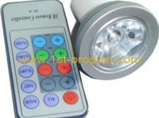 Remot control multi color sparkling light