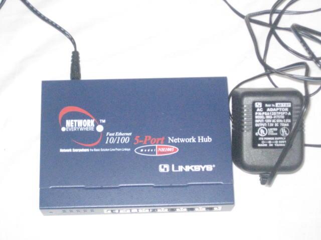 NETWORK HUB 5-PORT 10 100 | ClickBD large image 0