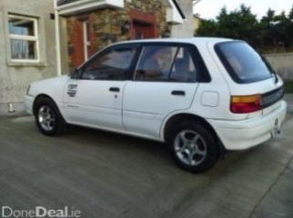 VERY URGENT SELL TOYOTA STARLET 1991