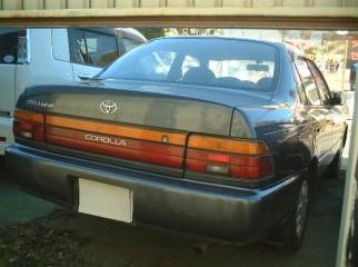 toyoya corolla 100 1992 1997