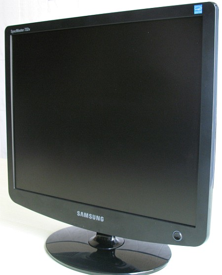 how to turn on a samsung syncmaster monitor