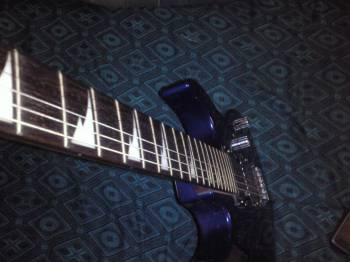 Ibanez gio with zoom 505 guitar processor | ClickBD large image 0
