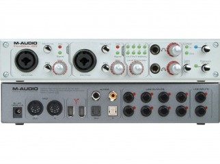 M-AUDIO FIREWIRW- 410 Almost New With Pac
